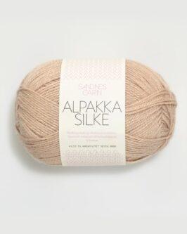 Alpakka Silke<br />3021Lys Beige