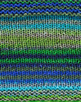 Uneek Fingering<br />3025Türkis-Blau-Grün-Grau